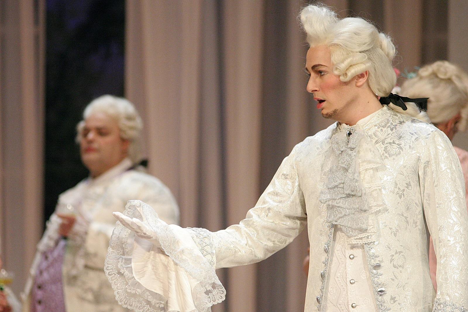 Graf Stanislaus - Der Vogelhändler (C. Zeller) - Landestheater Coburg